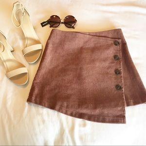 3/$25 Brown Mini Corduroy skirt